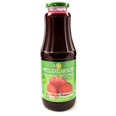 Weldenhof Bio Appel/Rode Biet fles 1l