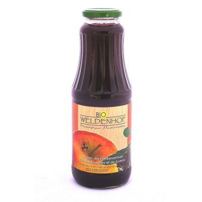Weldenhof Bio Appel/Vlierbes fles 1l