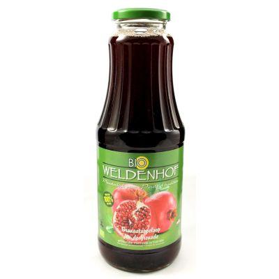 Weldenhof Bio Granaatappel fles 1l