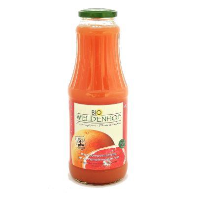 Weldenhof Bio Roze Pompelmoes fles 1l