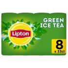 Lipton Ice Tea Green Original (Reduced sugar) blik 8 x 33cl