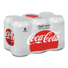 Coca-Cola Light blik 6 x 33cl