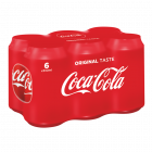Coca-Cola Original blik 6 x 33cl