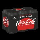 Coca-Cola Zero blik 6 x 33cl