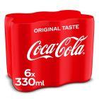 Coca-Cola Original blik 6 x 33cl