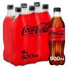 Coca-Cola Zero clip 6 x 50cl