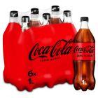 Coca-Cola Zero pet 6 x 1l