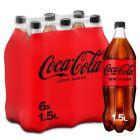 Coca-Cola Zero pet 6 x 1,5l