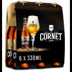 Cornet clip 6 x 33cl