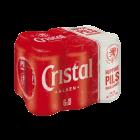 Cristal blik 6 x (5+1)x33cl