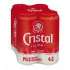 Cristal blik 4 x 50cl