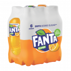 Fanta Zero Orange clip 6 x 50cl