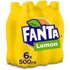 Fanta Lemon pet 6 x 50cl
