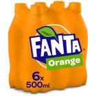 Fanta Orange 6 x 50cl