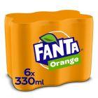 Fanta Orange blik 6 x 33cl
