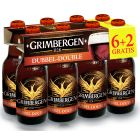 Grimbergen Dubbel (6+2 gratis) clip 8 x 33cl