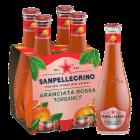 San Pellegrino Aranciata Rossa (Bio) clip 4 x 20cl