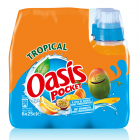 Oasis Pocket Tropical clip 6 x 25cl