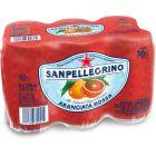 San Pellegrino Aranciata Rossa blik 6 x 33cl