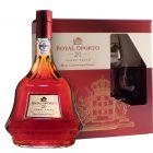 Royal Oporto 20Y Tawny geschenk 75cl + 2 glazen