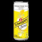 Schweppes Indian Tonic Zero blik 33cl