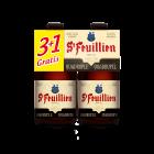 St Feuillien Quadrupel (3+1) clip 4 x 33cl