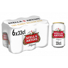 Stella Artois blik 6 x 33cl