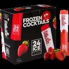 24 ICE Strawberry Daiquiri (Frozen Cocktail) karton 50x65ml