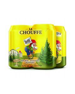 La Chouffe Blond blik 4 x 33cl