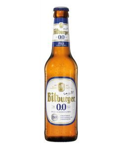 Bitburger 0.0 fles 33cl
