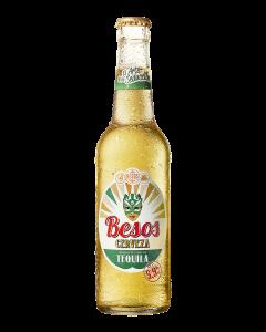 Besos Cerveza Tequila fles 33cl