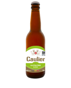Caulier Blond glutenvrij fles 33cl