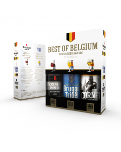Best of Belgium geschenk 3 x 33cl