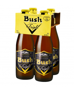Bush Triple clip 4 x 33cl