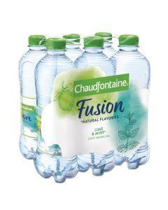 Chaudfontaine Fusion Limoen & Munt clip 6 x 50cl