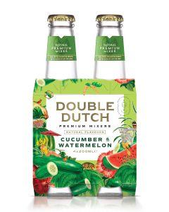 Double Dutch Cucumber & Watermelon clip 4 x 20cl
