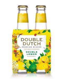Double Dutch Double Lemon clip 4 x 20cl