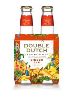 Double Dutch Ginger Ale clip 4 x 20cl
