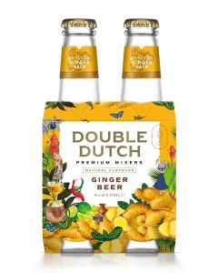 Double Dutch Ginger Beer clip 4 x 20cl