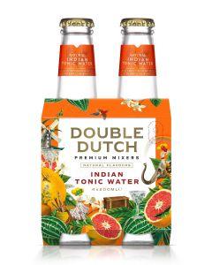 Double Dutch Indian Tonic clip 4 x 20cl