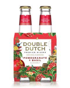 Double Dutch Pomegranate & Basil clip 4 x 20cl