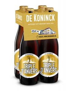 Triple D'Anvers clip 4 x 33cl