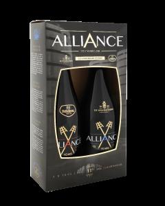 Alliance geschenk 2x75cl