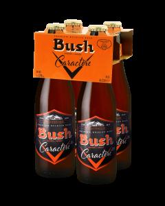 Bush Caractère clip 4 x 33cl