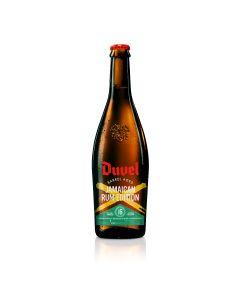 Duvel Barrel Aged Jamaican Style fles 75cl + glas