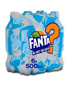 Fanta WTF No Sugar pet 6 x 50cl