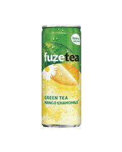 Fuze Tea Black Tea Mango Chamomile blik 25cl
