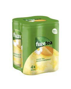 Fuze Tea Black Tea Mango Chamomile blik 4 x 25cl