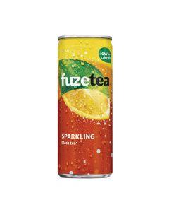 Fuze Tea Sparkling Black Tea blik 25cl