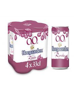 Hoegaarden Rosée 0,0% blik 4 x 33cl